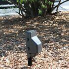 ZONE SHIELD  Outdoor Power Stake Hidden Camera w/ DVR Wifi Remote View