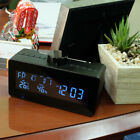 Lawmate  Weather Station Clock HD Hidden Camera w/ Motion Activated Recording &