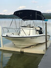 2013 Boston Whaler Dauntless 200 fishing/pleasure boat w/floating dock