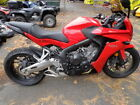 CBR -- Honda® CBR® 650F RED with 6041 Miles, for sale!