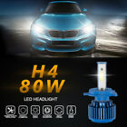 2x 9005/H4 70W 8000LM CREE Car COB LED Headlight Kit Beam Bulbs 6000K High Power