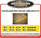 POLARIS EDGE RMK TRAILING ARM DECALS , graphics reproduction IFS available