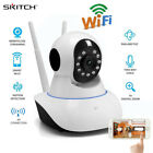 720P Wireless IP Security Camera Motion Detection Night Vision 2-Way Audio/Card