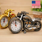 Cool Motorcycle Motorbike Pattern Alarm Clock Creative Home Birthday Gift Clock