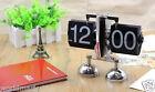 Modern Creative Fashion Black Flip Clock Balance Alarm Alarm Clock