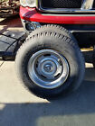 Chevy steel rally wheels rims with tires c10 rallies rings flat caps centers