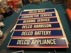 Vintage AC Delco Rochester Harrison Guide dual purpose decal set 17 pieces