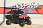 Dream Machines of Texas 2015 Honda Pioneer 700-4  1658 Miles Red