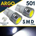 2 X 1 SMD WHITE LED LIGHT LAMP 12V 501 SIDELIGHT BULBS YAMAHA FJR 1300 (RP041)
