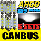 10 HIGH POWER SMD LED C5W 239 272 BULB NO ERROR NUMBER PLATE LIGHT AUDI A3 A5 TT