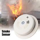 Cordless White Fire Smoke Sensor Detector Alarm Tester Home Security System