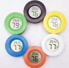 Portable Mini Indoor LCD Hygrometer Humidity Thermometer Round Temperature Meter