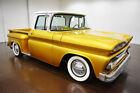 C-10 -- 1963 Chevrolet C-10  0 Gold  350 V8 Turbo 350 Automatic
