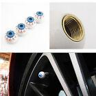 4Pcs Eye Ball Car Tires Wheel Valve Cap Cover Wheel Air Valve Stem Caps TO