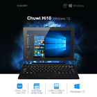 """CHUWI Hi10 10.1"""" Win10 Android5.1 4+64GB QuadCore 2xCam WiFi Ultrabook Tablet PC"""