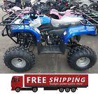 Full size 125cc atv taotao ata-125f1 Free shipping Large tires 2 racks semi auto