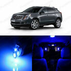 17 x Ultra Blue LED Interior Light Package For 2010 - 2013 Cadillac SRX