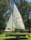 Rare 1960s Challenger 15 Daysailer Boat plus trailer and original sails