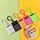 Plastic Casing 8 Digits Electronic Mini Calculator Keychain Random Color Pop~US