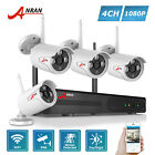 ANRAN Wireless 4CH 1080P Security Camera System Outdoor 2MP CCTV Network IP NVR