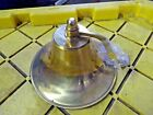 """8"""" BRASS SHIP BELL-NAUTICAL-HOME-DECOR OR BOAT  NO MOUNT OR GONG"""