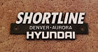 SHORTLINE HYUNDAI DENVER-AURORA DEALER TRUNK EMBLEM