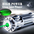 532nm Green High Power Military Laser Pointer Pen Military Zoomable Burn Beam HS