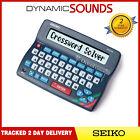 Seiko ER3700 Electronic Oxford Crossword Solver Dictionary Spellchecker Desktop