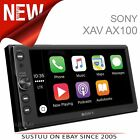 "Sony 6.4"" 2Din Car Stereo iPod USB Bluetooth Apple CarPlay Android Auto by Voice"
