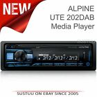 Alpine UTE 202DAB Car Stereo│1Din Radio│Media Receiver│iPhone/Android│Aux-in/USB