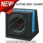 "Alpine Type-G Bass Reflex Car Subwoofer 10"" 500W - SBG 1044BR"