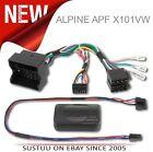 Alpine APF X101VW Car Steering Wheel-Parking/Heating Visualisation Interface VW