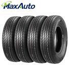 1x 2x 4x MaxAuto ST205/75R14 8Ply Velocity Radial Trailer Wheel Tires 2057514