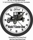 1921 FORD MODEL T CENTER DOOR WALL CLOCK-FREE USA SHIP