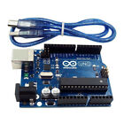 UNO R3 MEGA328P ATMEGA16U2 Development Board + USB Cable Cord Line for Arduino