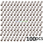 100 Pcs YP64 BNC Female To BNC Female Connector couplers Adapter For CCTV Camera