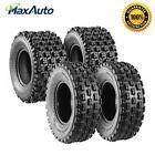 "1x 2x 4x 22X7-10 20X10-9 ATV Tires 4Ply Tubeless Front 10""Rim,Rear 9""Rim Speed J"