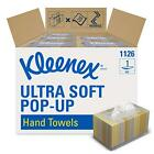 Kleenex Hand Towels 11268, Ultra Soft and Absorbent, Pop-Up Box, 18 Boxes / 70 /
