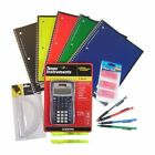 Back to High School & College 14 Item Bundle with Texas Instruments TI-30X IIS S
