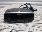 Vintage Philips Magnavox Dual Alarm AM FM Digital Clock Radio AJ3080