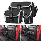 Seat Back Organizers Seat Storage Bags for 2018 2019 Jeep Wrangler JL Rubicon