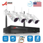 ANRAN 8CH 960P Wireless Security Home Camera System NVR HDMI HD P2P Outdoor IP66
