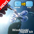 Car Windshield Glass quick Repair Tool Set Auto DIY Restore Kit Chip Crack White