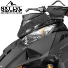 Skinz NXT LVL Windshield Pak - Flat Black - Arctic Cat 2014-2019 ZR F XF M
