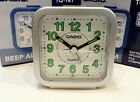 Casio Traveler Small Alarm Clock TQ141  TQ141-8  New Daily alarm NEW GRAY