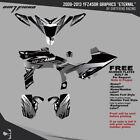 YFZ450R Graphics 2009-2013 DFR Eternal Black Sides Fenders