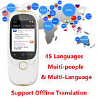 Smart Instant Voice Translator Pocket BT Real Time Translation 45 Languages Y8G2