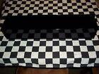 GLOSS BLACK WALL MOUNT FLASHLIGHT mag tray snap 2 use hang on workbench closet