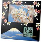 ADESSO digital alarm clock with photo frame thermometer Makie Processing Fuji