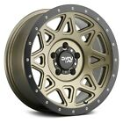 Dirty Life 9305 THEORY Wheels 18x9 (0, 5x127, 78.1) Gold Rims Set of 4
